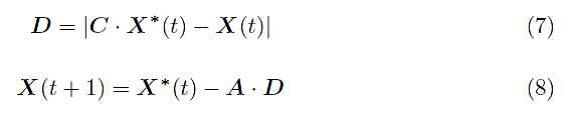 1 الگوریتم بهینه سازی وال (WOA)
